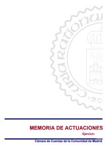 Memoria de Actuaciones - Año 2017