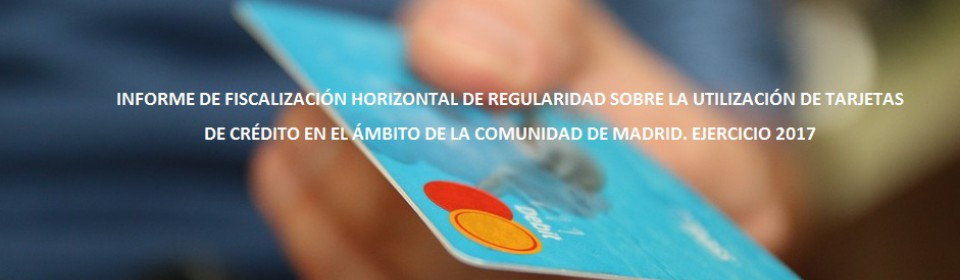 Informe fiscalización tarjetas de crédito