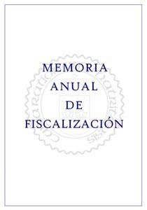Memoria Anual 2015.