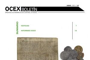 PUBLICADO EL BOLETÍN DE LOS OCEX Nº 37